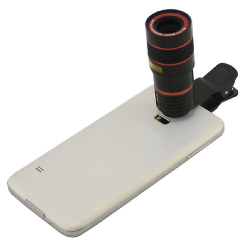 New Universal 8X Optical Zoom Telescope Camera Lens for iPhone