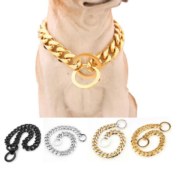 Stainless Steel Slip Pet Dog Chain Heavy Duty