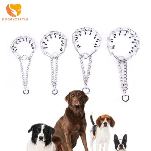 Metal Stainless Steel Chain Dog Collar for Training