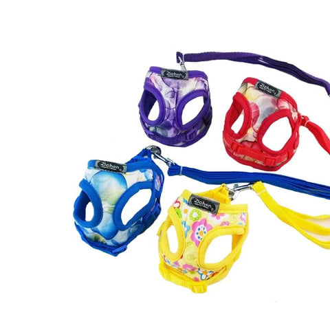 Dog Harness Training for Puppy Soft Satin Mesh