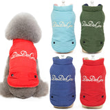 Fashion Letter Printed Winter Jackets Coat for Pet