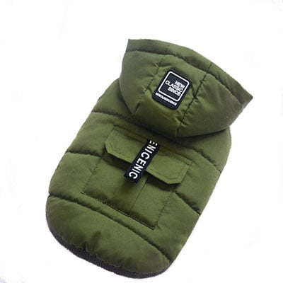 Pet Cotton Detachable Hat Hooded Winter