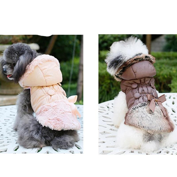 Winter Warm Pet Dog Clothing Thickening Cotton