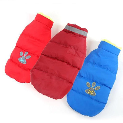 Winter Dog Clothes for Dogs Large Warm Waterproof Clothes