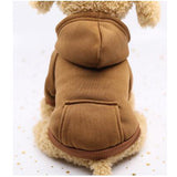 Pet Puppy Dog Clothes Coat Hoodie Pocket Costumes