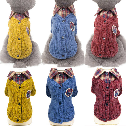 Dog Clothes New Winter Warm Pet Dog Sweater
