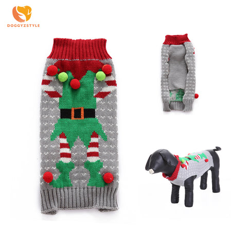 Dog Sweaters Winter Warm Dog Clothes