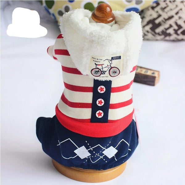 Fashion Sale Small Dog Clothes Warm Pet Cloth