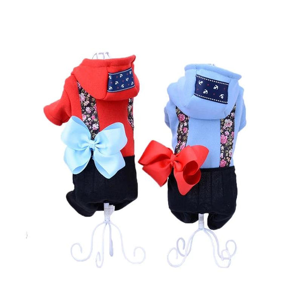 New Spring Autumn Pet Dog Cat Jumpsuit Clothes