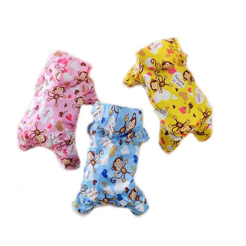 Hooded Pet Dog Raincoat for Small Dog Clothes