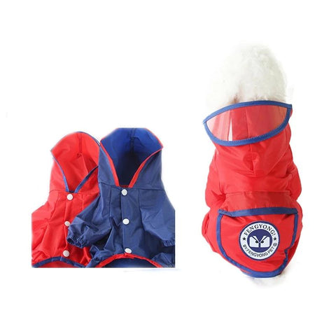 6 Colors Summer Small Medium Large Dog Raincoat