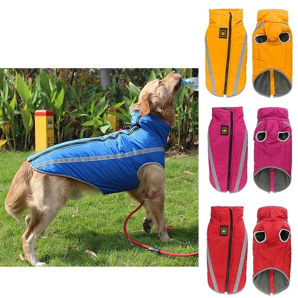 XL-6XL Windproof Pet Dog Puppy Vest Jacket