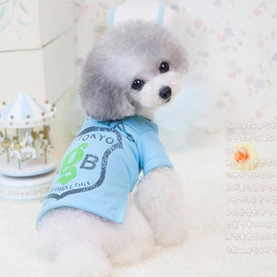 2019 New Arrival Casual Cotton Pet Dog Clothes