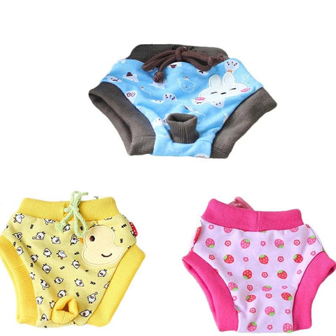 3 Colors Cute Cartoon Pet Puppy Dog