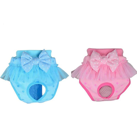 2019 New Bow Cute Hygienic Short Pants