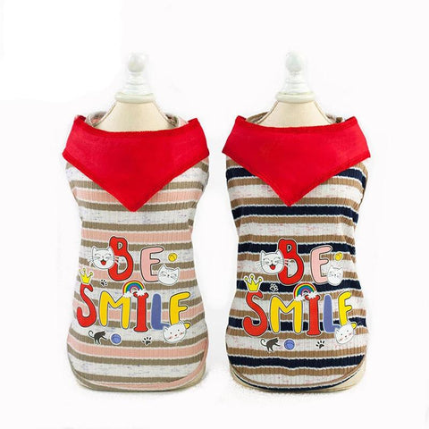 Pet Clothes Dog Vest Fashion Leisure New Red Scarf