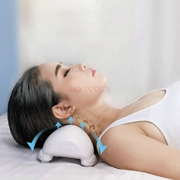 neck stretching devices cervical Cervical Traction Pillow