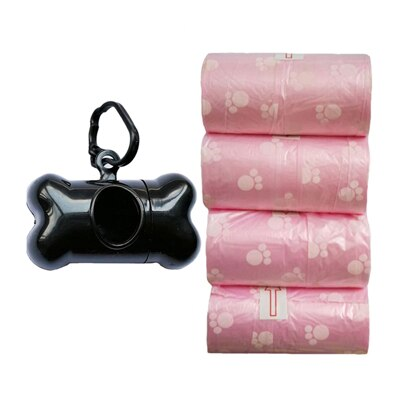 4Rolls=80Pcs Degradable Pet Dog Waste Poop Bag