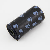 10 Rolls=200 Pcs Pet Dog Print Poop Bags