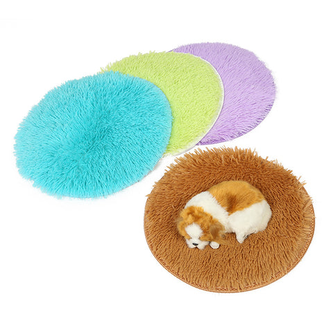 Pet Bed Round Cat Sleeping Bag Dog Cusion Puppy Mats