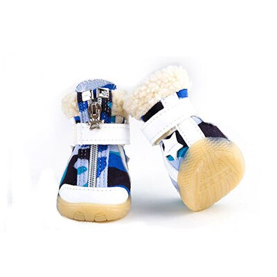 Autumn And Winter Camouflage Snow Boots Puppy Shoes