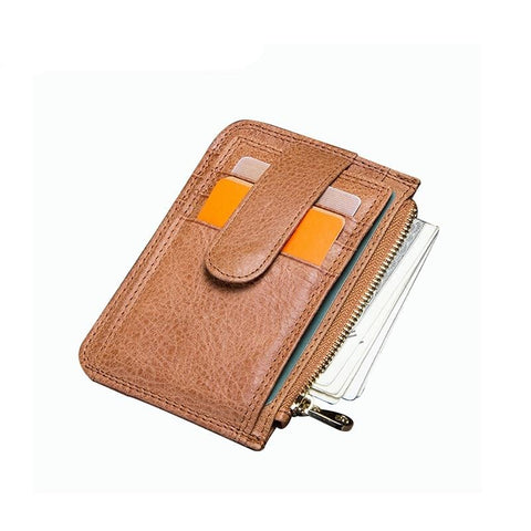 Case Genuine Leather Small Men Wallet