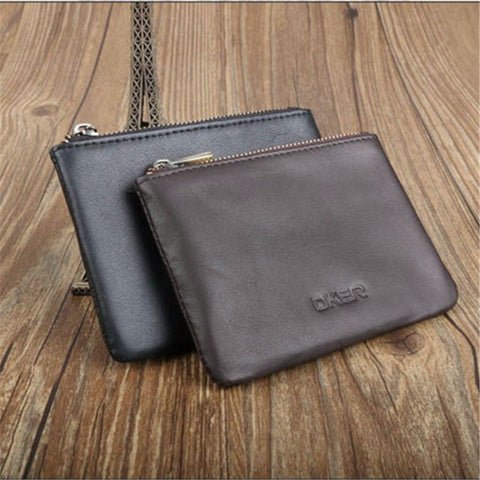 Genuine Leather Coin Purses for Men