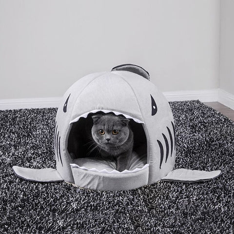 Shark house for pet