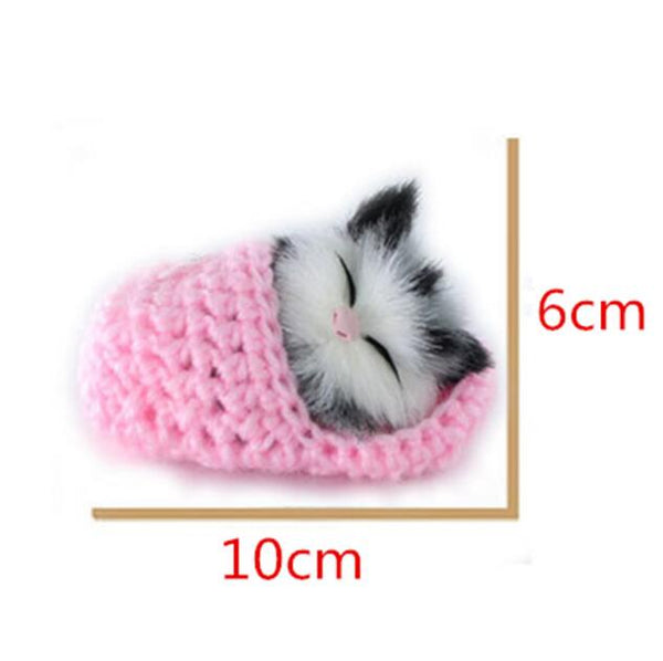 Lovely Simulation Sounding Shoe Kittens Cats Toy