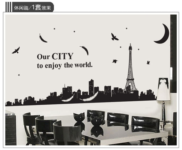 City Wall Stickers Home Stickers