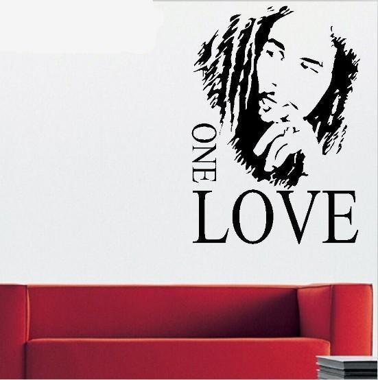 Bob Marley Love Quote Wall Stickers