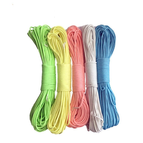 Glow in the dark Luminous Paracord Parachute Cord