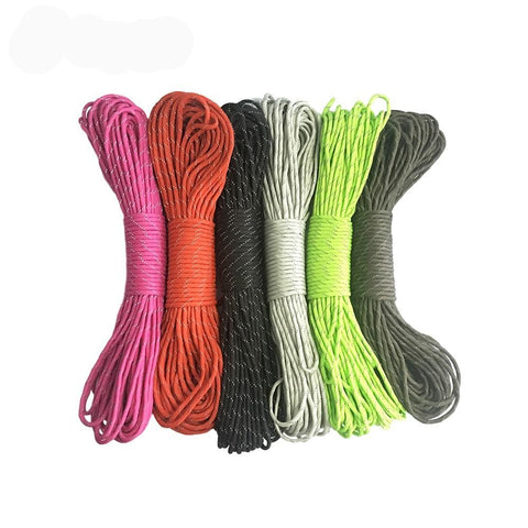 7 Core Strand 50 100FT Reflective Parachute Paracord