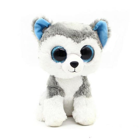 Ty Beanie Boos Big Eyes Husky Dog Plush Toy