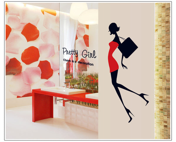 Fashion Beautiful Wall Stickers