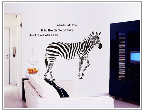 The new zebra home decor