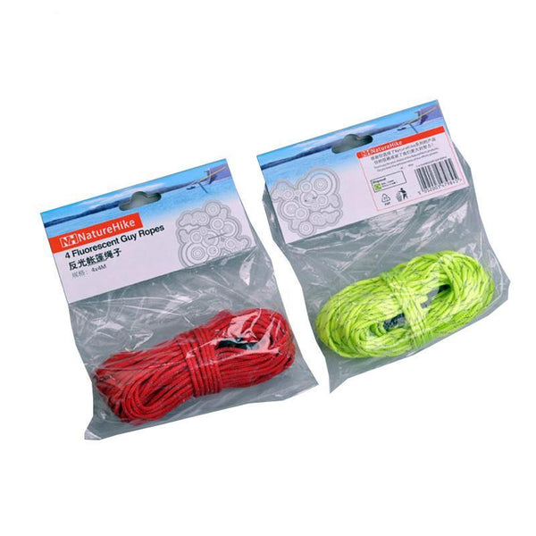 4x4m Reflective Tent Rope Windproof Rope
