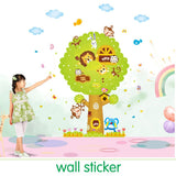 Bathroom Adesivos Poster Children's Tree Sticker