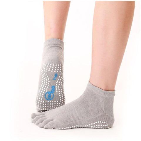 Women's Non-slip colorful Cotton Floor Pilates Socks