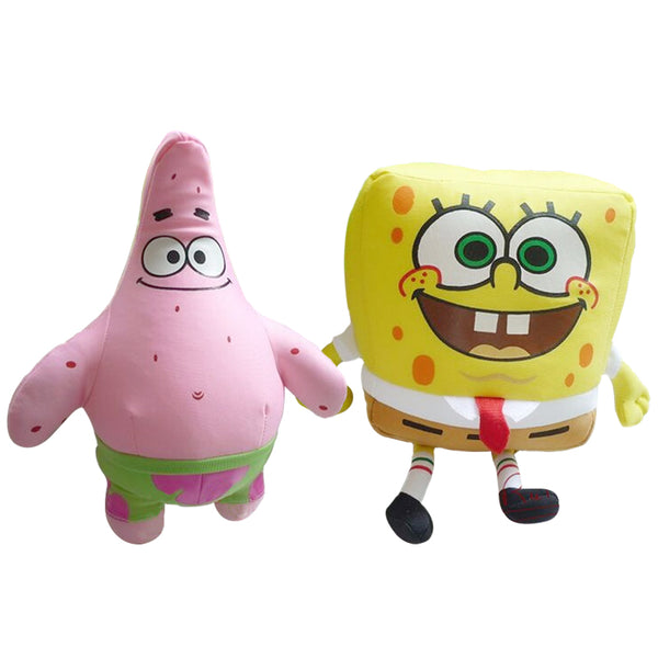 SpongeBob and Plush Toys