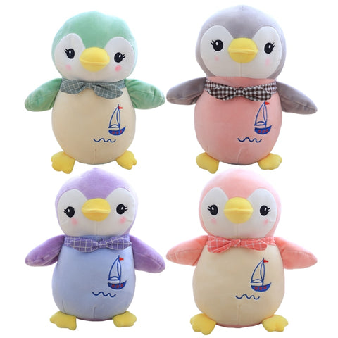 Cute Penguin Plush Toy Staffed Animal Dolls Kawaii Kids Toy Children's Gift Home Decoration Lovely Valentine Gift