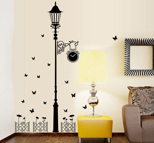 Personality corridor lamp background porch wall stickers