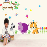 Animal world of children room decorate