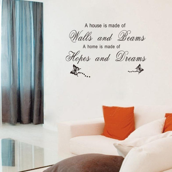 Home Living Room Bedroom Wall Stickers