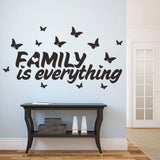 """Family is everything"" Wall Stickers"