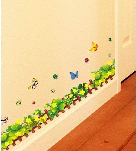 Green Butterfly Wall Sticker
