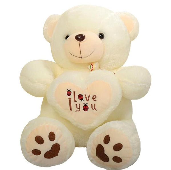 Holding LOVE Heart Big Plush Teddy Bear