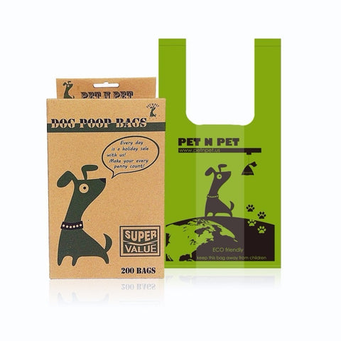 Dog Poop Bags Earth-Friendly 200 Counts