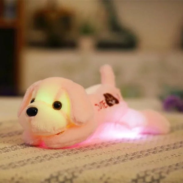 Cute Luminous Plush Dog Toys