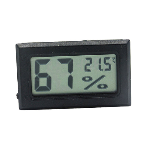 Mini LCD Digital Thermometer Hygrometer Temperature Sensor
